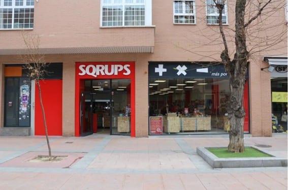La cadena low cost Sqrups! abre dos nuevos outlets en la Comunidad de Madrid