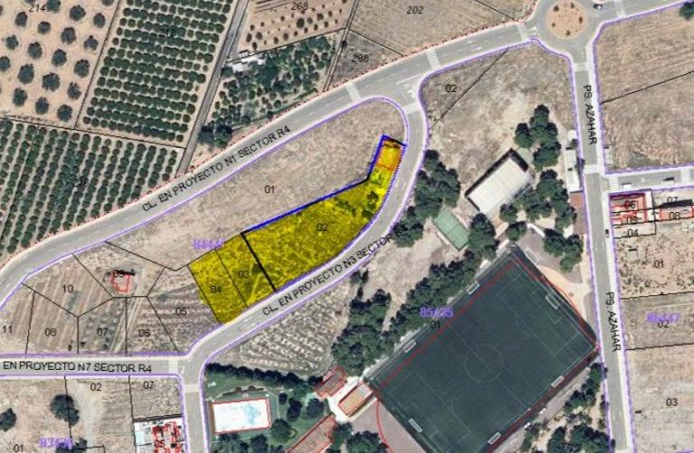 Asemar subastará 4 parcelas rústicas edificables de 5.000 m2 en Valencia