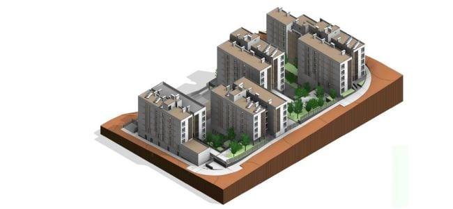 Mitma adjudica la ejecución de 90 viviendas protegidas en Ceuta