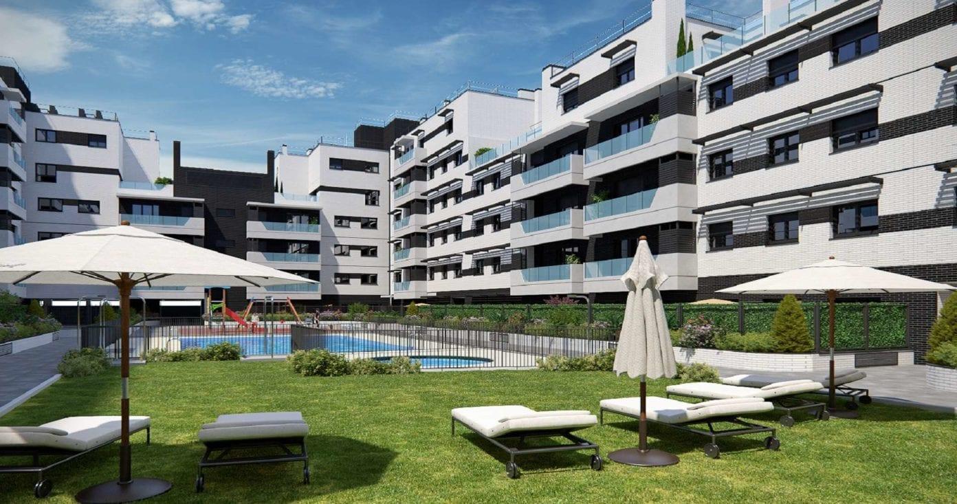 proyecto residencial de Pryconsa con vivienda de obra nueva en Carabanchel Madrid