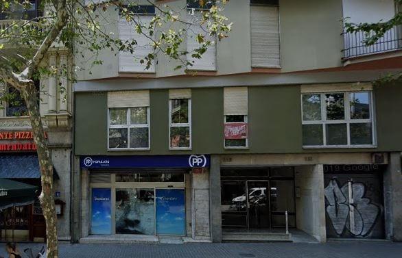 El PP baja el precio de su sede en venta en Barcelona y ficha a Engel & Völkers