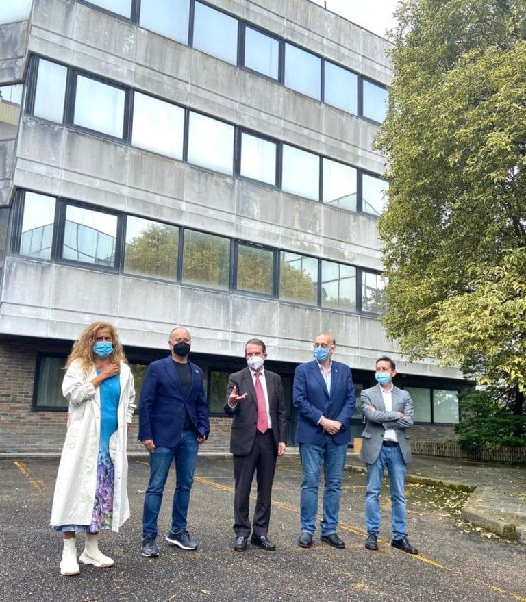 El laboratorio cuántico de la Universidad de Vigo se instalará en el edificio blanco de Zona Franca