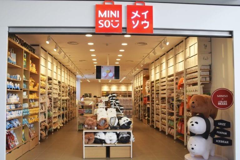 Miniso inaugura su primera tienda en Pamplona