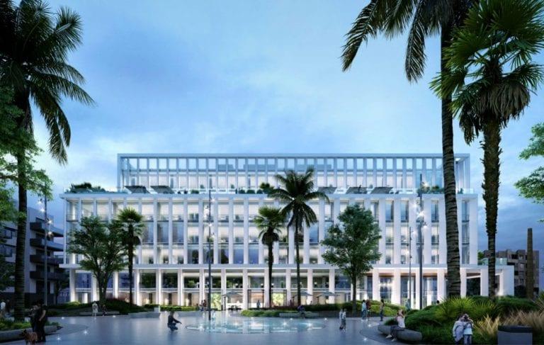 Insur invertirá 29 millones en desarrollar un edificio de oficinas en Málaga