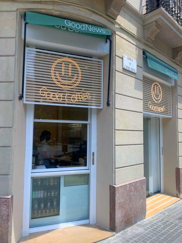 GoodNews abre dos locales comerciales en Barcelona y Madrid