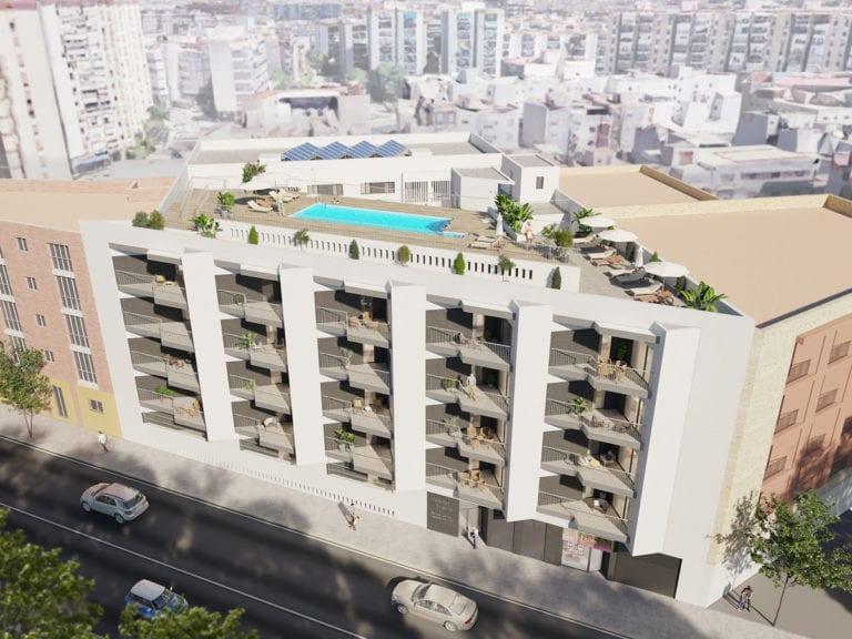 Habitat vende la mitad de las viviendas de su promoción en Triana