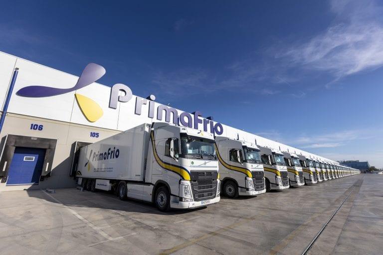 Primafrio alquila seis naves logísticas a sus propios dueños