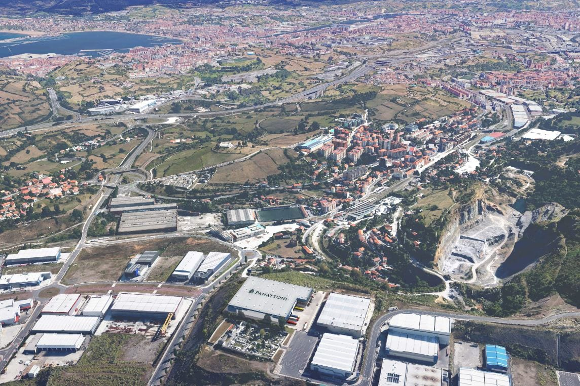 Panattoni logistica Bilbao