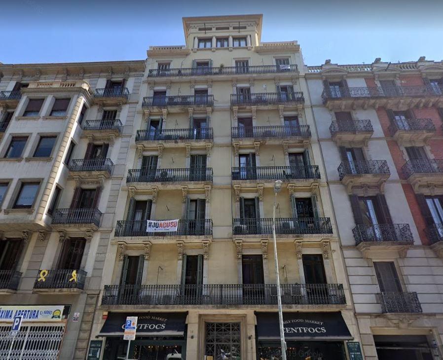 calle balmes 16 barcelona fuente google maps