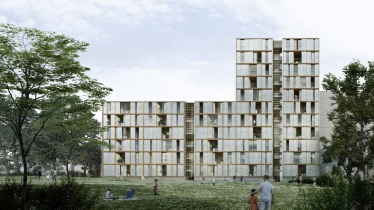 El Ayuntamiento de Barcelona adjudica la construcción de 135 viviendas industrializadas