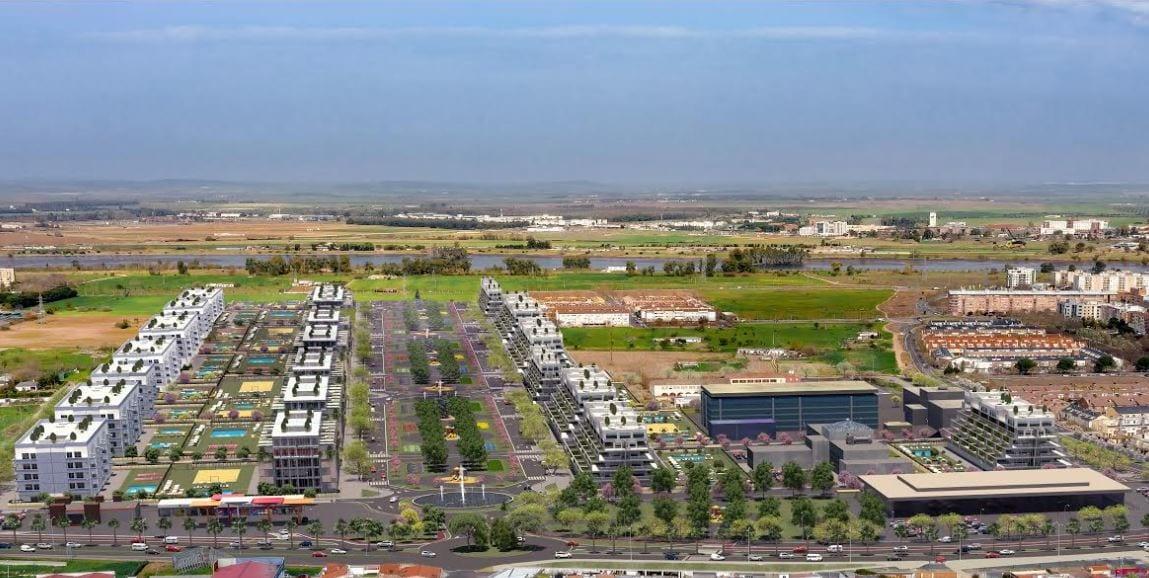 Santander proyecto residencial Badajoz