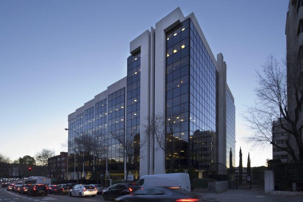 edificio oficinas Madrid fuente Kennedy Wilson