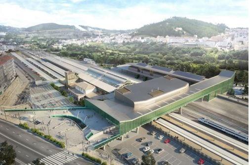 El Gobierno autoriza la construcción del nuevo edificio de viajeros de la estación de Santiago de Compostela