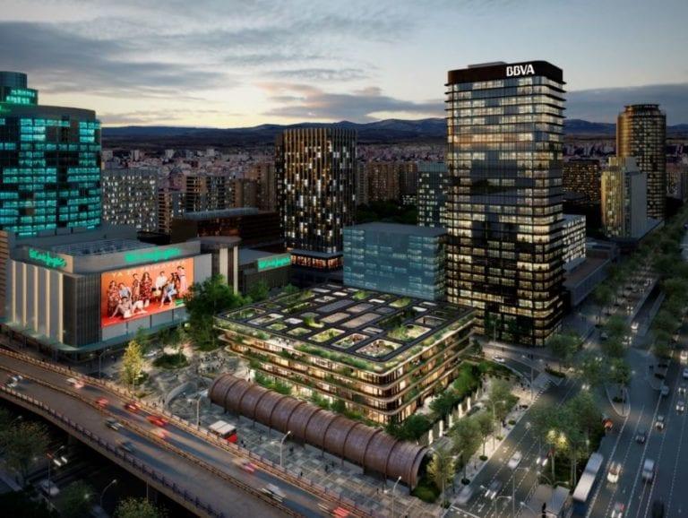 El Corte Inglés levantará un edificio de oficinas en su solar de Castellana
