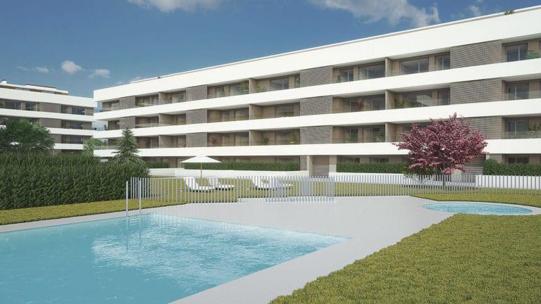 Inbisa inicia la construcción de 94 viviendas en su primera promoción en Navarra