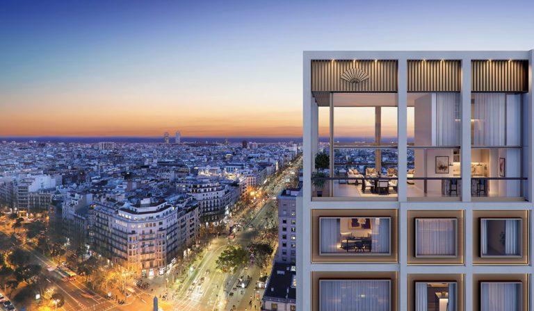 KKH inicia la venta de los pisos de lujo Mandarin Oriental Residences en Barcelona