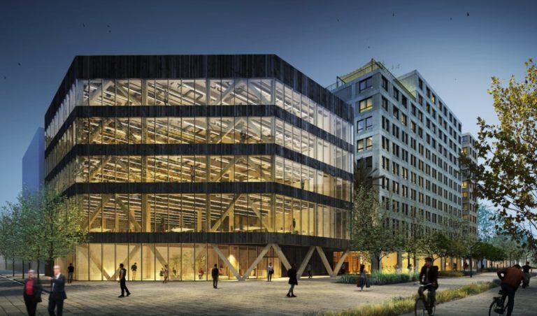 Henderson y Hines promoverán un edificio de oficinas de madera en el 22@