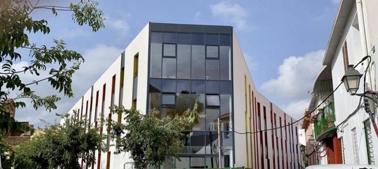 Urbania finaliza las obras de su industrializada residencia de estudiantes de Málaga
