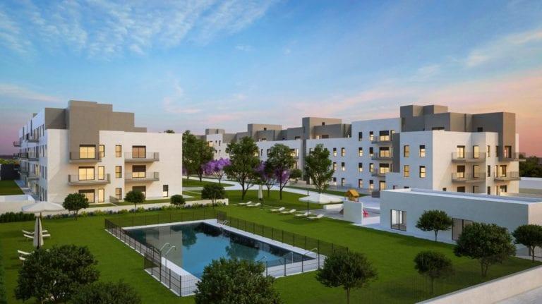 Vía Célere comercializa 236 nuevas viviendas en Sevilla