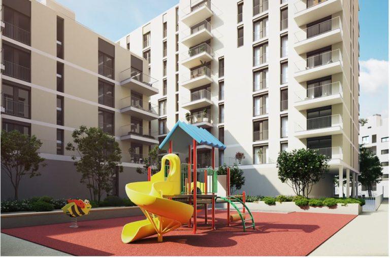 AQ Acentor obtiene licencia de edificación en el distrito de Montjuic de Barcelona