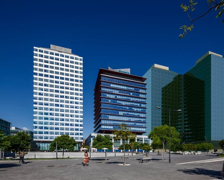 Las dos nuevas torres de BcnFira District logran la certificación WELL Health-Safety Rating