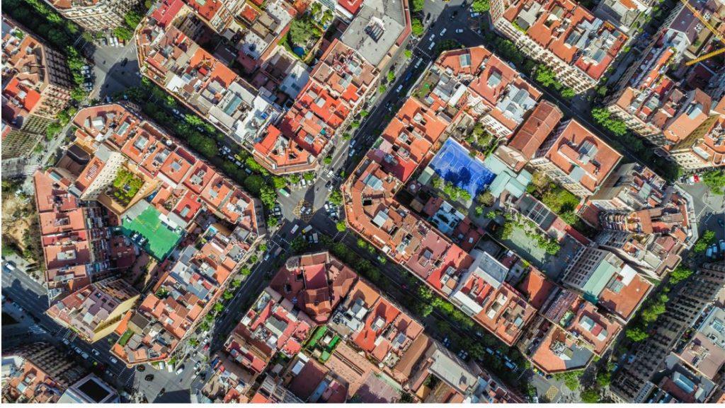 Barrio Eixample Barcelona