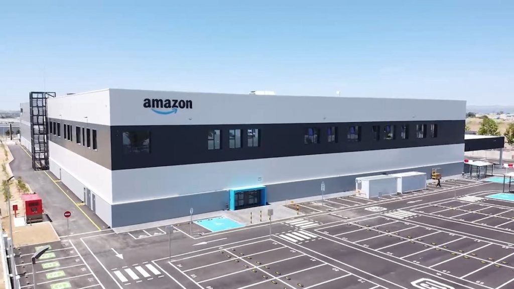 Estación logística de Amazon en Móstoles