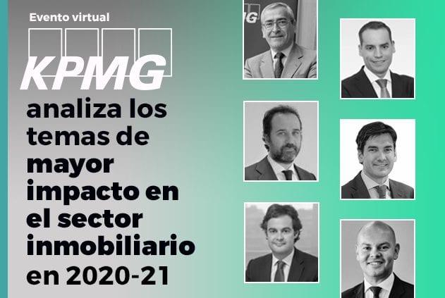 """KPMG: """"La inversión inmobiliaria superará los 11.000 millones en 2021"""""""