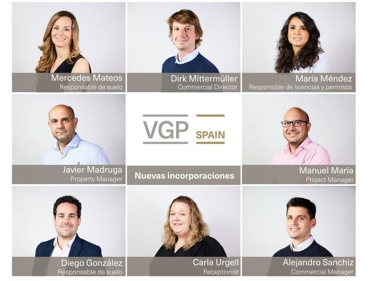 VGP aumenta la plantilla y abre una nueva oficina en Madrid