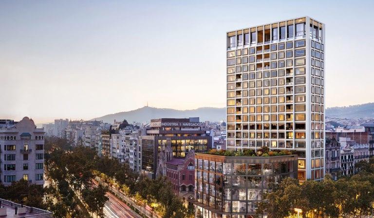 KKH encarga a San José la construcción de sus viviendas de lujo en el Paseo de Gracia