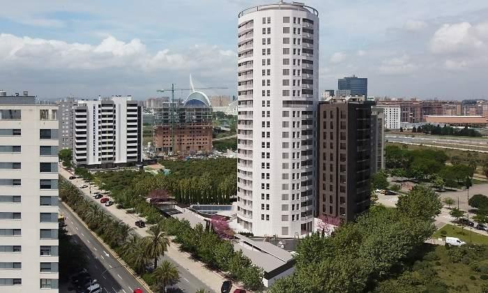 Edificio de viviendas moreras metrovacesa valencia aew