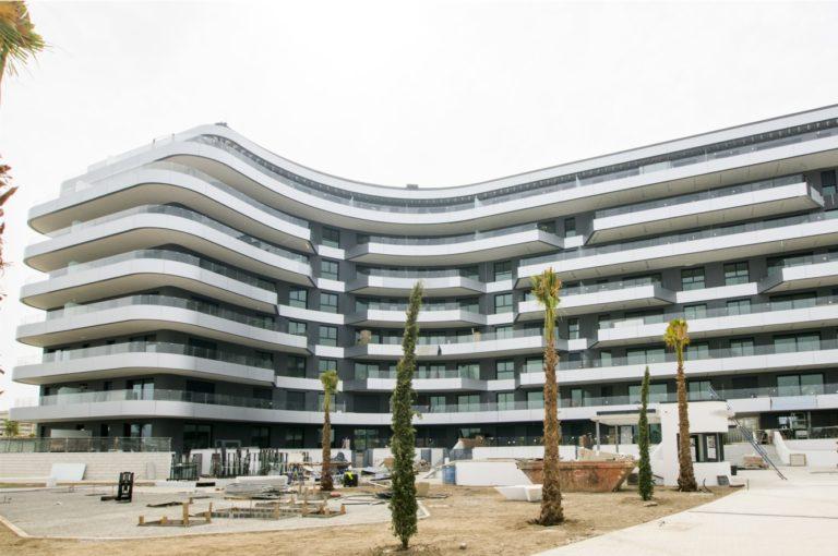 Metrovacesa finaliza las obras de un residencial en Málaga que costó 37 millones