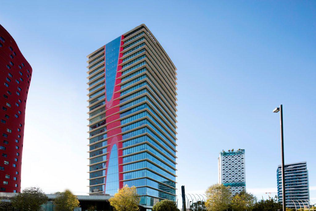 Torre Realia Barcelona edificio oficinas