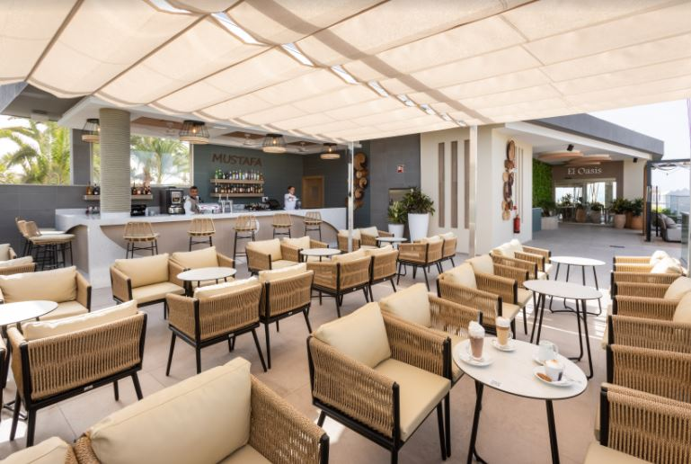 hotel riu maspalomas cafeteria
