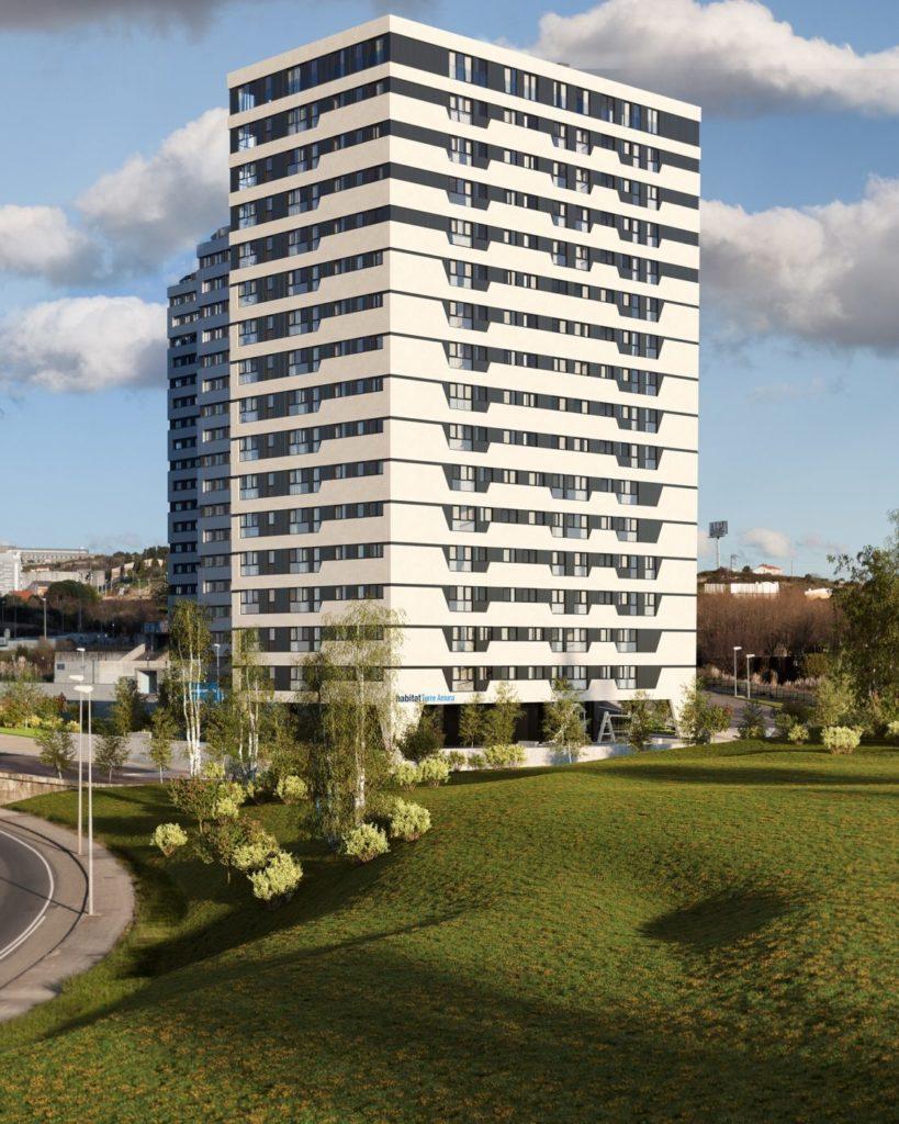 promocion de vivienda nueva Habitat Torre Amura A Coruna