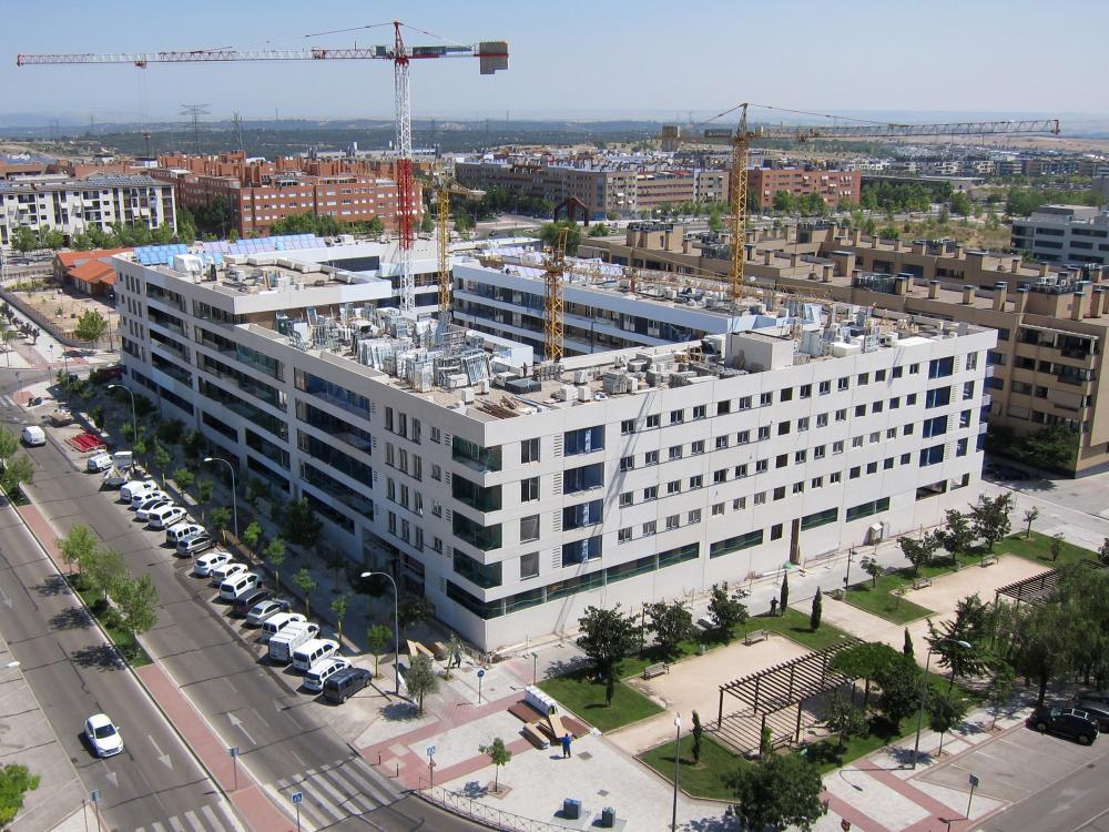 viviendas en construccion obras amenabar madrid alcobendas