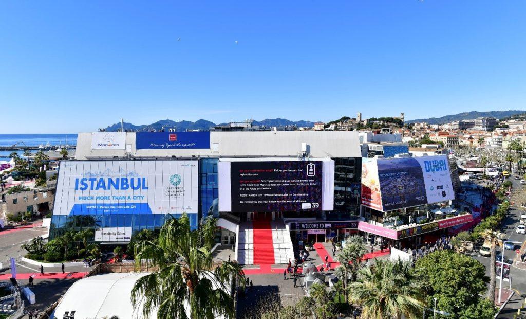 Palacio de congresos de Cannes feria inmobiliaria mipim