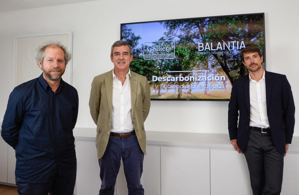 Colliers y Balantia se alían para impulsar la descarbonización del sector inmobiliario