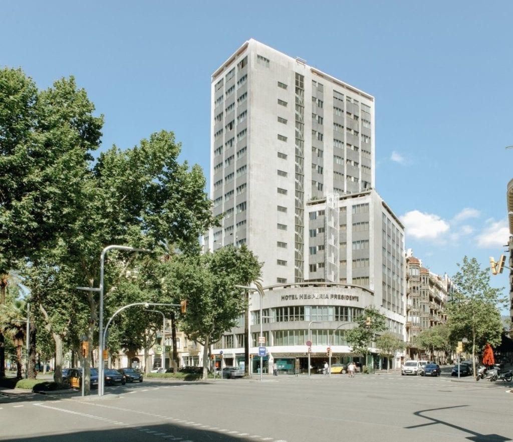 hotel hesperia barcelona presidente