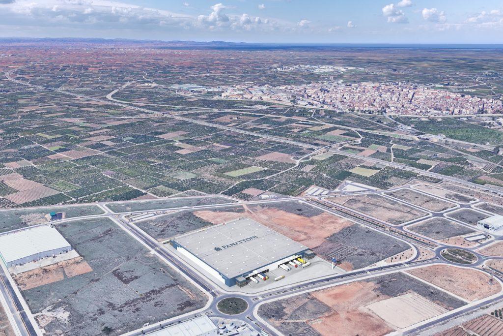 Panattoni compra una parcela de 50.000 m2 en Valencia para desarrollar un proyecto logístico