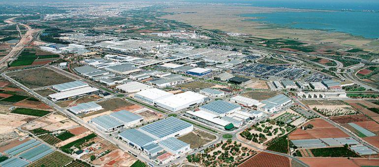 Parque Industrial Juan Carlos I en Almussafes