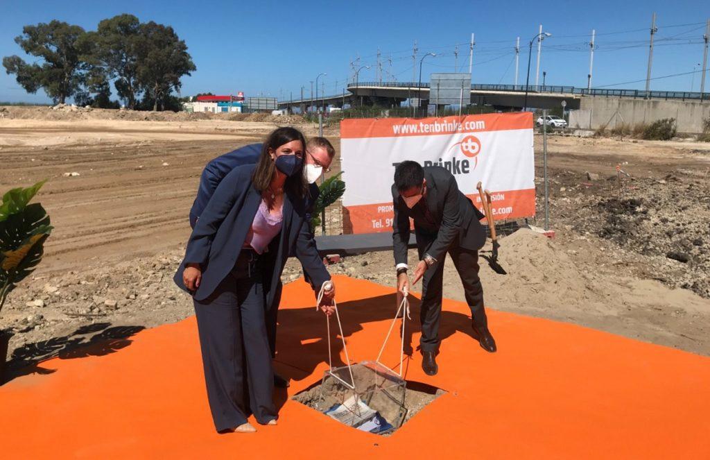 Ten Brinke inicia las obras de su nuevo parque comercial y empresarial de Cádiz