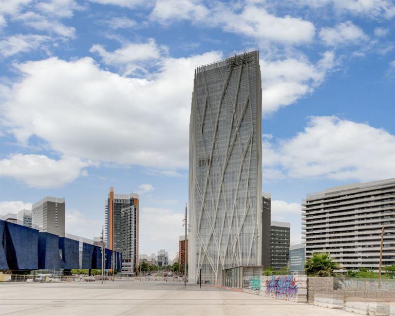 Torre Diagonal One en Barcelona