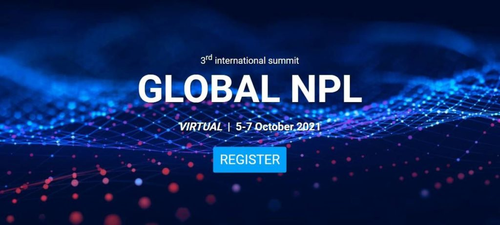 Global NPL 2021: el mayor evento sobre préstamos dudosos, del 5 al 7 de octubre